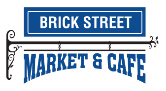 A theme logo of Brick Street Market